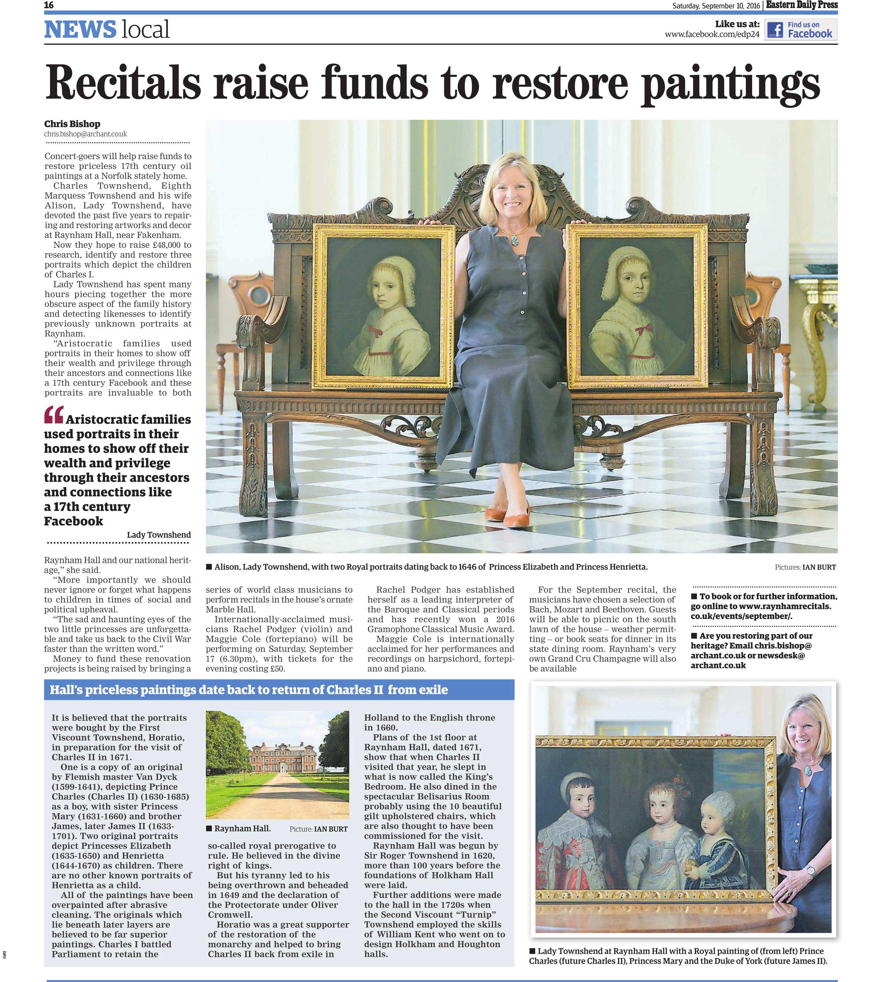 Raynham Hall Article