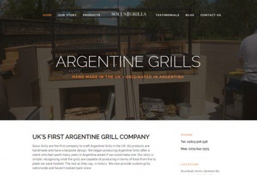 New food website attracts international success