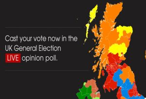Digital Opinion Poll Provides Realtime Insight Into UK General - Live interactive map us election