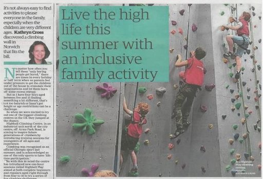 Norfolk climbing centre is inspiring the next generation of climbers
