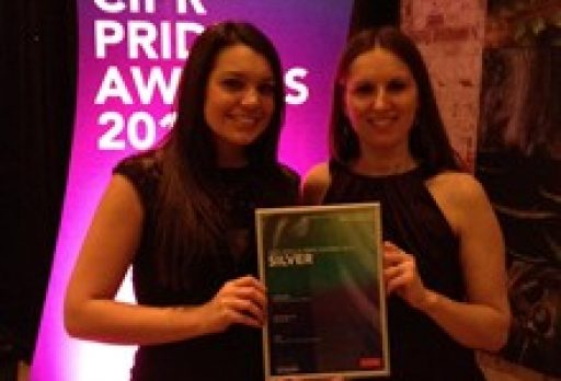 Silver award for Outstanding Small Consultancy