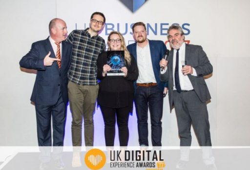 Agency wins two UK Digital Experience Awards