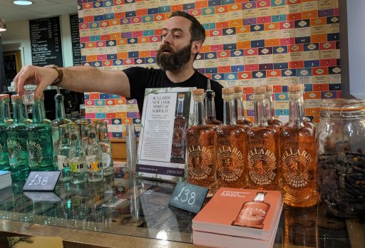 Consumer launch for new gin and new packaging