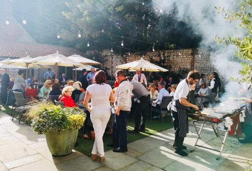 The Hoste holds garden party for village