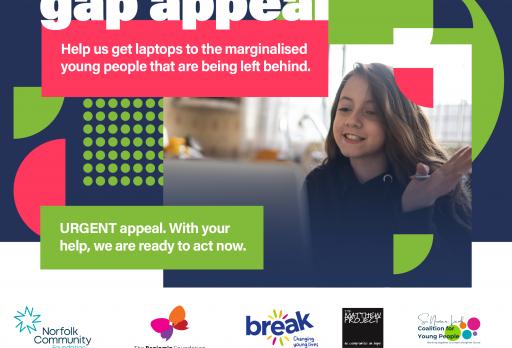 Laptop appeal raises £16,500 in two weeks